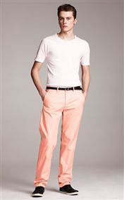 acne pop chinos dusty pink