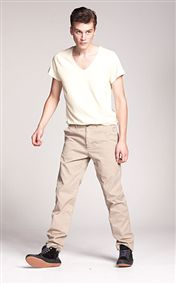 acne pop chinos khaki